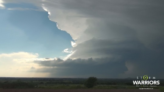 Stephenville Rotating Supercell